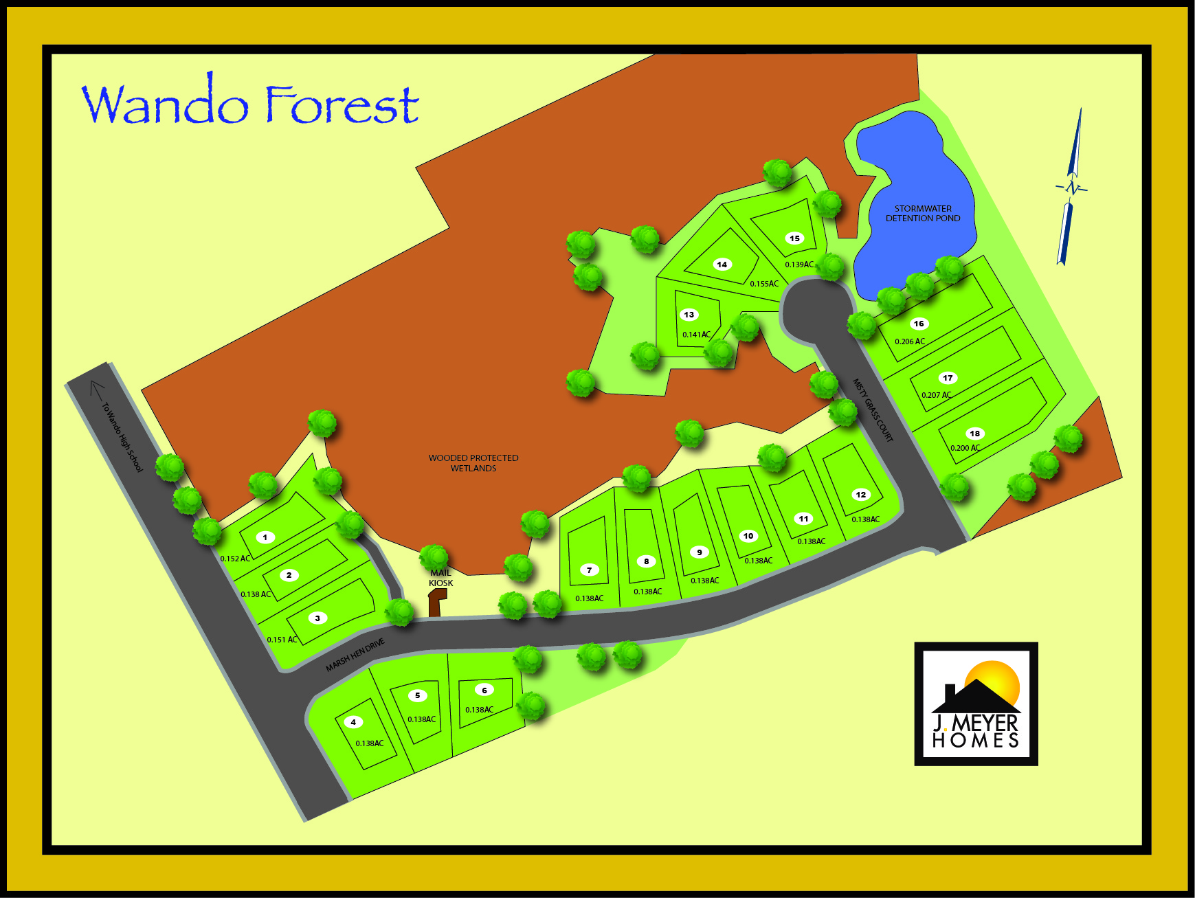 Wando Forest Site Plat